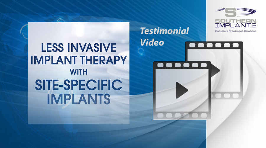 Dr. Costa Nicolopoulos, Dubai, UAE – Less Invasive Implant Therapy with Site-Specific Implants