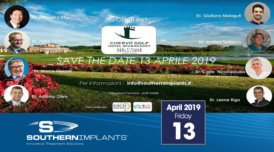 April 13, 2019 – Southern Implants Congress