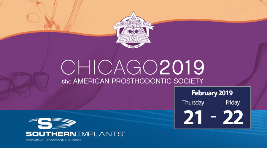 February 21-22, 2019 – APS – The American Prosthodontic Society Annual Meeting