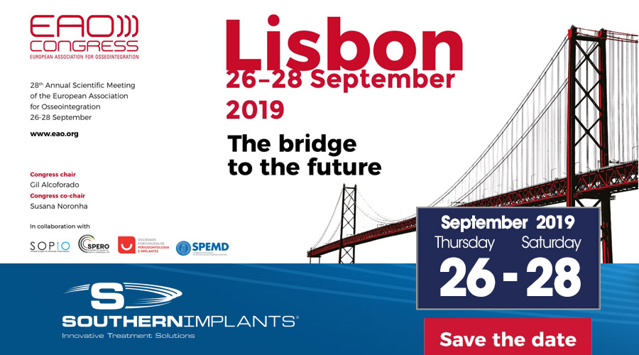September 26-28, 2019 – EAO Congress – 28th Annual Scientific Meeting
