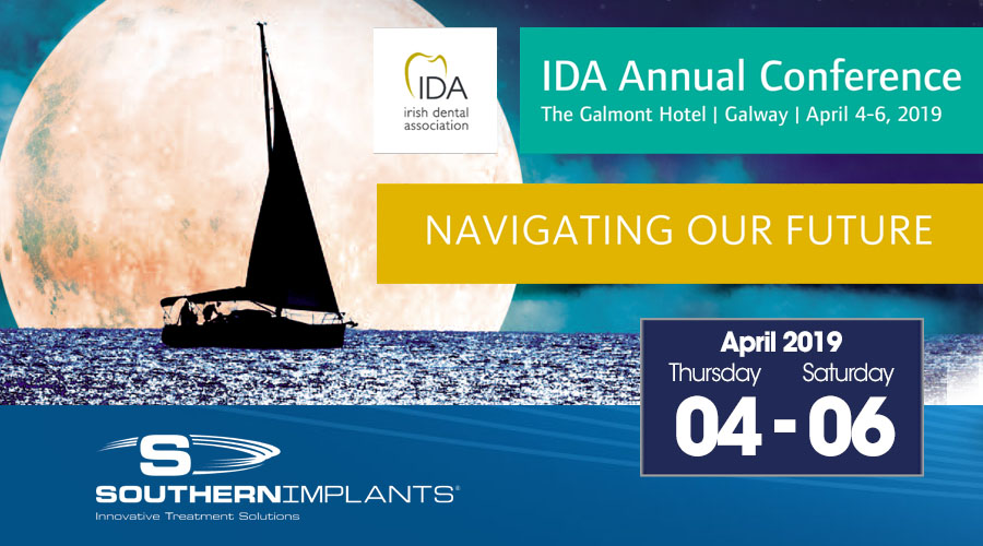 April 4-6, 2019 – Irish Dental Association (IDA) Conference